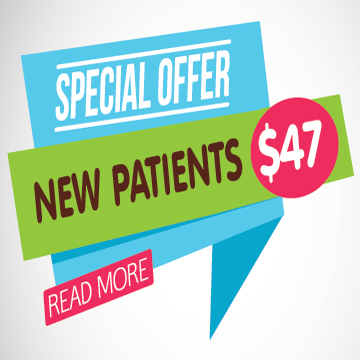 Special offer - New Patients $47